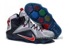 http://www.nikekwazi.com/nike-lebron-12-ps-elite-white-navy-red.html NIKE LEBRON 12 P.S. ELITE WHITE NAVY RED Only $84.00 , Free Shipping!