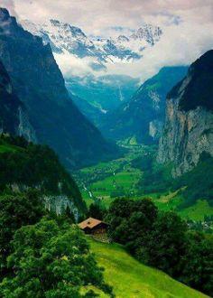 Bernese-Alps-Switzerland