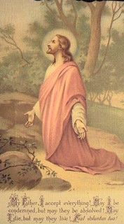 My Father, I accept everything! May I be condemned, but may they be absolved! May I die, but may they live! Images Of Christ, Pictures Of Jesus Christ, Religious Pictures, Jesus Our Savior, Jesus Prayer, Prayer Cards, Agony In The Garden, Vintage Holy Cards, Christian Images