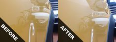 Dent Removal in St Helens Remove Dents From Car, Auto Body Repair, Lava Lamp, Water Bottle, How To Remove, Water Bottles