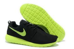 competitive price bc2bf 2db20 Find Nike Roshe Run Suede Mens Black Green Shoes For Sale online or in  Footlocker. Shop Top Brands and the latest styles Nike Roshe Run Suede Mens  Black ...