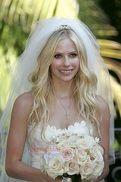 Bridesmaids Hairstyles Ideas On Long Wedding With Veil Cherrymarry Softer Loose Curls For The Pinterest