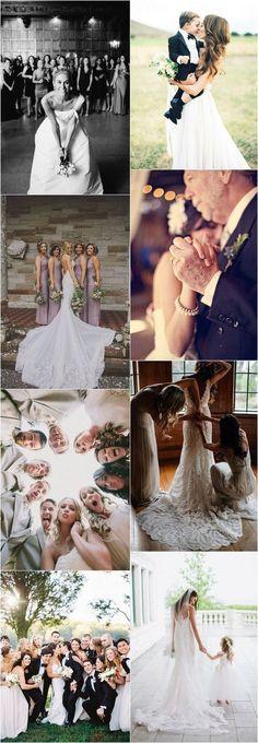 creative wedding party photo ideas