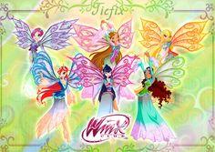 Winx club Tiefix Transformation by fantazyme
