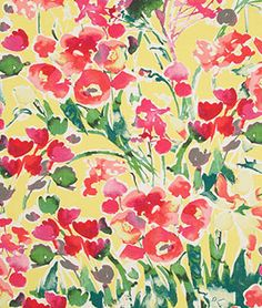 Robert Allen Severine Poppy Fabric