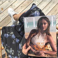 Yay! Sommeren er kommet til Danmark igen   og vi er rykket uden for på terrassen sammen med hotte @mathildegoehler i det nye ELLE hvor vi fordyber os i sæsonens lækreste beachwear#ELLEjuli #regram @johannebrostroem  via ELLE DENMARK MAGAZINE OFFICIAL INSTAGRAM - Fashion Campaigns  Haute Couture  Advertising  Editorial Photography  Magazine Cover Designs  Supermodels  Runway Models