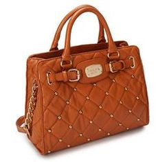 Welcome To Our Michael Kors Stud Quilted Large Brown Totes Online Store