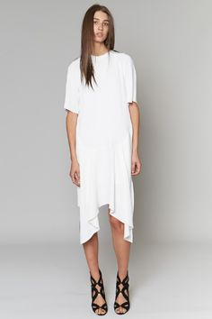 Minimal + Classic: Christopher Esber | Concave Raglan Dress