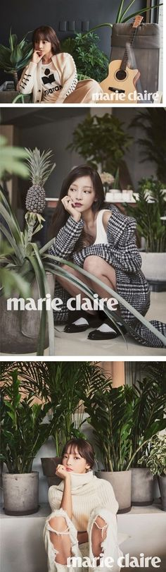 Hara is a living doll in 'Marie Claire' photo shoot | http://www.allkpop.com/article/2015/08/hara-is-a-living-doll-in-marie-claire-photo-shoot