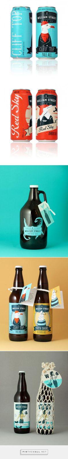 William Street Beer Co. packaging designed by Freshly Packaged