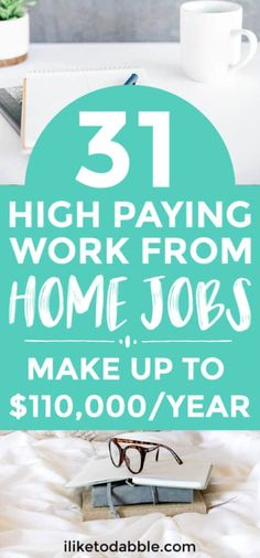 31 Best Work From Home Jobs Hiring Today - Earn Money Ways To Earn Money, Make Money Blogging, Make Money From Home, Money Tips, Way To Make Money, Make Money Online, Saving Money, Money Hacks, Blogging Ideas