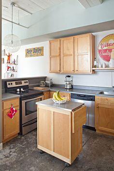 home of tad u0026 jessica carpenter small kitchen