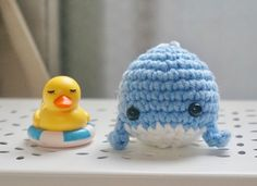 This FREE Baby Whale Crochet Pattern is wonderful for using leftover yarn. It is a fast and easy beginner project.