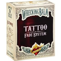 Wrecking Balm: It's a balm which you can use to fade away that regretful tattoo. It is a revolutionary product for those looking for a tattoo fix. Unfortunately, this takes a humongous long time. You have to b religious & diligent about it. It works, but it's slow & expensive. It won't be painful to ur body, but certainly painful to your pocket! So, there you go, 1 more way on how to remove a tattoo! Cost: order it online on Amazon for $150 / Pain: On a scale of 1-10, 0
