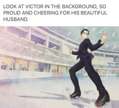 YASSSSS SLAY MY BEAUTIFUL YUURI! KILLING THE GAME.