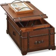 steamer trunk coffee table - Google Search