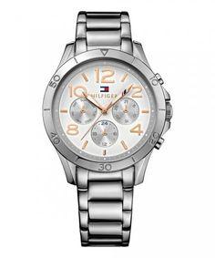 9bdcc330e8c25 Relógio Tommy Hilfiger Feminino Aço Prateado e Rosé - 1781525 ...