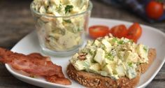 Avocado Egg Salad Recipe: A great avocado egg tart recipe, if you miss the mayonnaise, you can enrich it, but you can also have a. Vegetarian Lifestyle, Vegetarian Recipes, Cooking Recipes, Healthy Recipes, Healthy Deserts, Healthy Snacks, Hungarian Recipes, Perfect Food, Mayonnaise