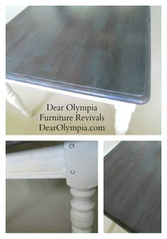 CeCe Caldwell   Dear Oly Launch and My Refinished Dining Room Table CeCe Caldwell | before and after | Virginia Chestnut | Hershey Brown | Antique White | chalk paint | dark aging wax | refinished furniture