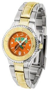 Florida A Rattlers FAMU NCAA Womens Two-Tone Anochrome Watch SunTime. $93.95
