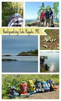 Backpack Isle Royale National Park