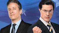 John Stewart and Steven Colbert -- better news than the news channels.