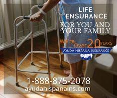 Tu tranquilidad y la de tu familia en nuestras manos. 20 Years, Life, Life Insurance, Hands