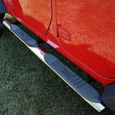 4 1/4 Inch Oval Side Steps, Stainless Steel; 07-16 Jeep Wrangler JK