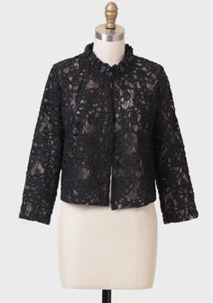 Evening Wish Lace Bolero at #Ruche @Ruche