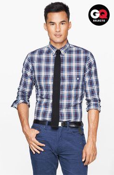 Todd Snyder Plaid Sport Shirt #Nordstrom #GQSelects