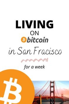 Living on bitcoin in San Francisco for a week #bitcoin #bitcoinmining #bitcoincash #bitcointrading #bitcoininformation #bitcoininvesting #cryptocurrency #crypto #cryptocurrencies #cryptonews #cryptocurrencytrading #cryptocurrencymining #cryptowallet #financetips Business Pages, Group Boards, Money Management, Personal Finance, Travel Inspiration, The Help, Traveling By Yourself, Travel Tips, Trips