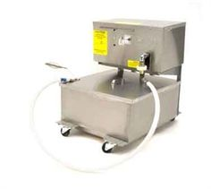Summer Sale! DEAN Fryer Filter,Portable Oil Filter, gravity drain for fryers with front drain only, 80-lb oil capacity, 5' return hose, 4 GPM steel gear pump with 1/3 hp motor, filter starter kit, casters