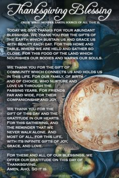 Thanksgiving - A Time of Gratitude