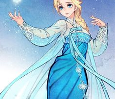 Our fave Disney stories and fairy tales got an unbelievably gorgeous East Asian makeover: Elsa