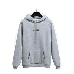 OH YES Hooded Sweatshirt – Curvy Fashion Queen Plus Size Outerwear, Curvy Fashion, Sleeve Styles, Hooded Sweatshirts, Hoods, Cool Style, Queen, Casual, Sleeves