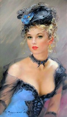 25 Drawings which can be confused with photos - beautiful women Vintage Art, Vintage Ladies, Fine Art, Woman Painting, Painting Art, Portrait Art, Pencil Portrait, Beautiful Paintings, Female Art