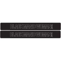 Santana 2 Pack Black Slap Band W/white Black Magic Woman Graphic