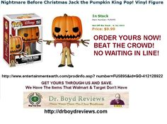 Dr. Boyd Reviews Announces The Entertainment Earth Our Premier Affiliate.  OVER 8,900+ VISITORS  HUGE discounts to the HOTTEST items, like action figures, plush, and statues from Star Wars, Marvel, DC Comics, and more. With savings you don't want to miss this! For best selection, shop now.  http://www.entertainmentearth.com/prodinfo.asp?number=FU5895&id=GO-412128922