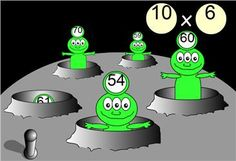 All Tables - Choosable < Maths Zone - Free Cool Learning Games for School Ict Games, Fun Math Games, Learning Activities, Primary Maths, Primary Classroom, Primary School, Classroom Ideas, Literacy And Numeracy, School Games