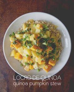 quinoa pumpkin stew