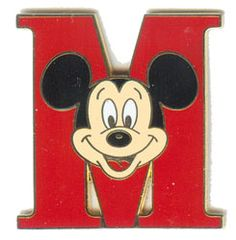 Mickey Mouse Letter M