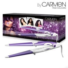 Get long lasting salon results with the True Colours 3-in-1Hair Styler, comprising a straightener, conical wand and curling iron, you can have all of the styling power of three appliances with just one! Create natural looking waves, glamorous curls and sleek styles in minutes with the stylers long, ceramic coated barrel. The styler heats up to 200C in just 30 seconds, which is ideal for busy lifestyles as well as ensuring long lasting styles that will take you from the office to the…
