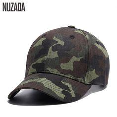 NUZADA Qualidade da marca Hip Hop Homens Mulheres Boné De Beisebol Camuflar  Snapback Osso Chapéus Primavera 3e02ab406fb