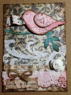 I love ATC and was so excited when I decided how I wanted to use them. For inspiration and prayer! This is my 2nd ATC