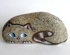 Resultado de imagen para artesanias en piedras pintadas