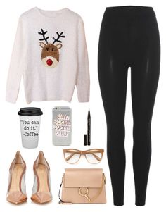 """""""Rudolph and Gianvito"""" by aemun-ahmad ❤ liked on Polyvore featuring adidas Originals, Gianvito Rossi, Chloé, Wildfox and Smith & Cult"""