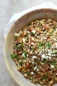 Healthy quinoa and feta cheese summer salad foodness gracious summer quinoa recipes healthy foodshealthy forumfinder