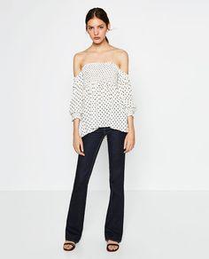 Immagine 1 di TOP SPALLE SCOPERTE di Zara