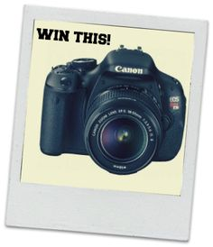 join in this giveaway. http://www.giveawaypromote.com/2013/10/canon-eos-rebel-t3i-dslr-camera-giveaway/