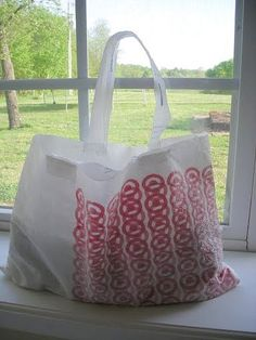 How to make a long lasting grocery bag
